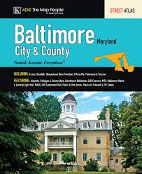 Baltimore County Zip Code Map by Adc Baltimore City U0026 County Md Street Atlas Adc 9780875306087