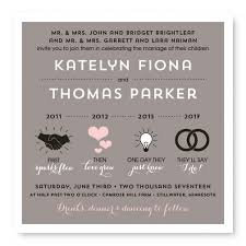 wedding invitations timeline timeline wedding invitations