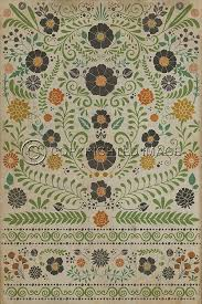 Vinyl Outdoor Rugs Spicher And Company Vintage Vinyl Floor Cloths Prettiest Weeds