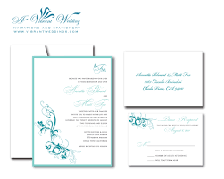 E Invitation Cards Excellent Turquoise Wedding Invitations Theruntime Com