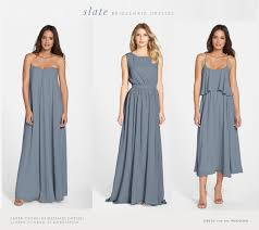 slate blue bridesmaid dresses slate gray bridesmaid dresses