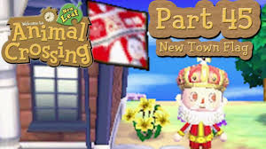 animal crossing halloween background animal crossing new leaf part 45 making a new town flag youtube