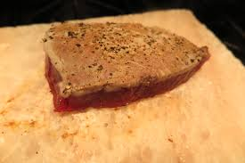 poached tuna salt block seared ultra ahi tuna toski sands market