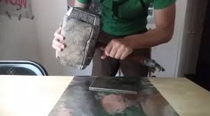 watch man creates a thor hammer replica that only he can pick up