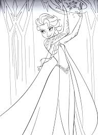 queen elsa coloring pages free esther chrysalis snow queen free