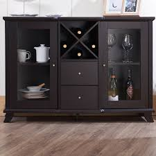 Black Buffet Table Sideboards Extraordinary Black Wine Cabinet Buffet Black Wine