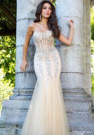corset dresses at prom dress shop