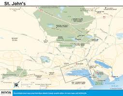 Newfoundland Map Printable Travel Maps Of Atlantic Canada Moon Travel Guides