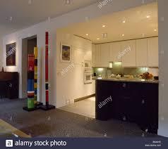 Living Room Recessed Lighting recessed lighting in modern white kitchen off openplan living room