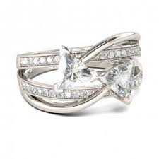 Jeulia Wedding Rings by Trillion Engagement Rings Engagement Rings For Women Jeulia Jewelry