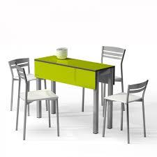 table cuisine petit espace table petit espace en verre avec allonges piccola 2 modularité