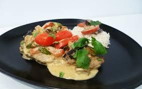 cuisiner cote de porc côtes de porc au curry vert la recette facile par toqués 2 cuisine