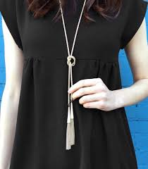long gold tassel necklace images Kendra scott phara long gold tassel necklace blue daisy shop jpg