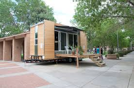 Modern Tiny Home by Modern Styled Tiny House Self Built Tiny House On Wheels In