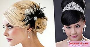 vlasove doplnky vlasové doplňky vlastníma rukama svatby dítě foto a
