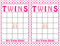 blank baby shower bingo cards printable party baby