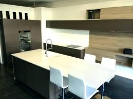 ilot de cuisine alinea ilot central table table bar cuisine design image ilot central de