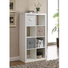 Storage Bookshelves With Baskets by Organizer 8 Cube Storage Book Shelves Eight Square Tv Stand Toy