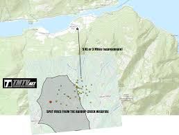 Wildfire Alerts Bc by Updated Harrop Creek Wildfire In The West Kootenay Explodes Early