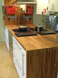 plan de travail bois cuisine plan de travail hetre massif avec optez pour un plan de travail en