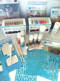how to customize a mug martha stewart glass paint