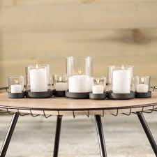brayden studio selby 7 bubbles iron and glass candle holder