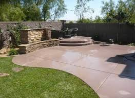 Backyard Stamped Concrete Ideas Stamped Concrete Patios Pictures Concrete Patio Designs Patio