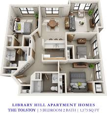 Two Bedroom Apartments In Florida Library Hill Apartments Minutes From Downtown Milwaukee And