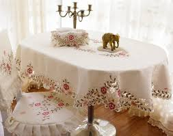 fabric decoration oval tablecloth for home joanne russo