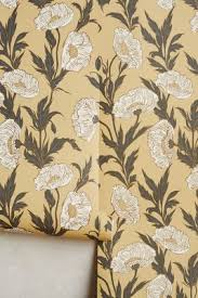 Design House Skyline Yellow Motif Wallpaper Assorted Wallpaper Anthropologie