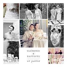 modele remerciement mariage carte de remerciement mariage classique carte de remerciement à