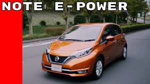nissan versa uk equivalent 2017 nissan note e power electric vehicle youtube