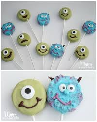 mike u0026 sulley monsters oreo pops