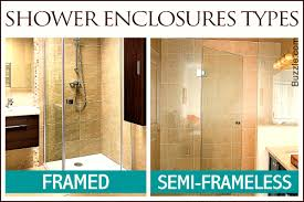 Agalite Shower Doors by Types Of Shower Nujits Com