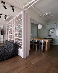 ganna design creates an apartment for a fashion designer couple in