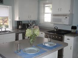 Benjamin Moore White Dove Kitchen Cabinets Silvery Blue Walls Need Recommendation