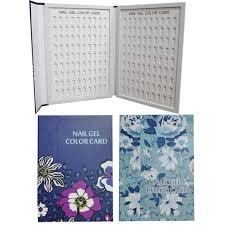 1 cái professional 180 colors nail art color chart book salon