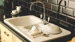 Plastic Kitchen Sinks Kitchen With Black Backsplash And White Plastic Sink Maintain