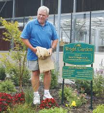 david wright architect new fairgrounds garden named for springfest president new jersey