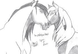 spirit stallion of the cimarron drawings baby
