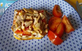 recette boursin cuisine poulet recette tartine au boursin poulet et tomates économique et simple