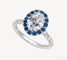 sapphire accent engagement rings colorful sapphire gemstone engagement rings ziva jewels