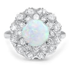 Opal Wedding Rings by Vintage Opal Engagement Rings Brilliant Earth