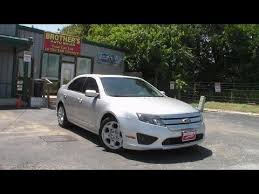 2011 Ford Fusion Interior 2011 Ford Fusion Se Review Youtube