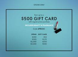 500 gift card neiman earn up to 500 gift card with select beauty purchase