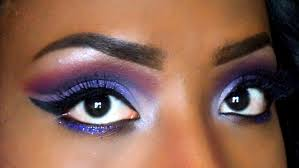 dramatic fall makeup purple cut crease eyeshadow tutorial 2 youtube
