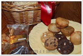 mrs fields gift baskets 3 garnets 2 sapphires mrs fields gift baskets for s day