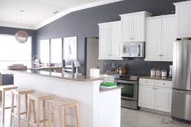 white kitchen cabinets refinishing how i transformed my kitchen with paint house mix