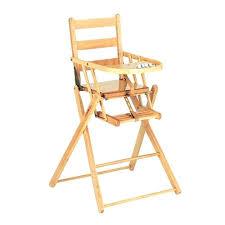 chaise bebe en bois chaise bebe bois chaise haute en bois naturel pliante chaise