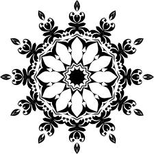 ornamental floral design domain vectors